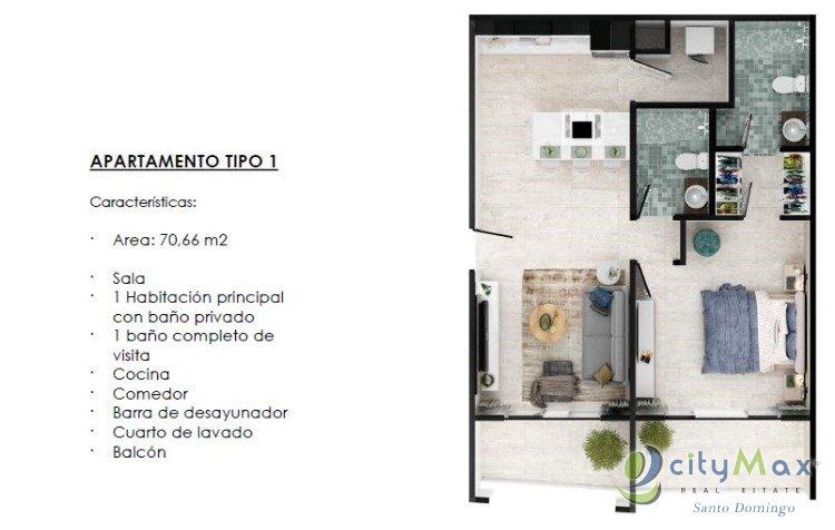 Apartamento de Playa en Venta en Playa Nueva Romana