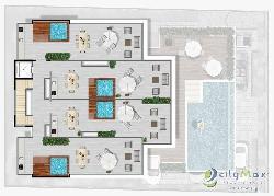 Vendo Penthouse de 1 Habitacion en playa de Bayahibe