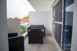 Semi-Penthouse amueblado en venta con piscina bayahibe
