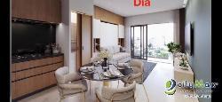 apartamento en venta en torre de lujo de naco 1 hab