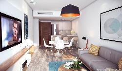 Penthouse en venta en Paraiso 3 Habitaciones y piscina