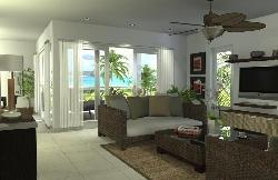 Apartamento de 2 habitaciones y estudio en Las Terrenas