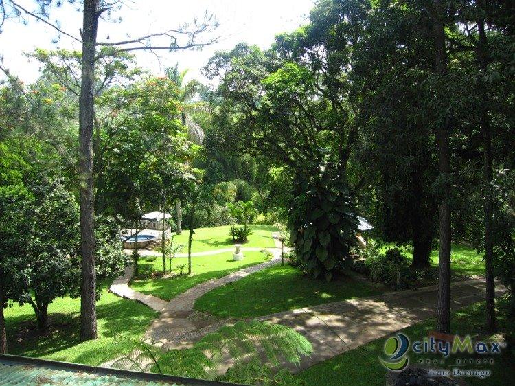 Finca en venta en Buena Vista Jarabacoa incluye cabaña