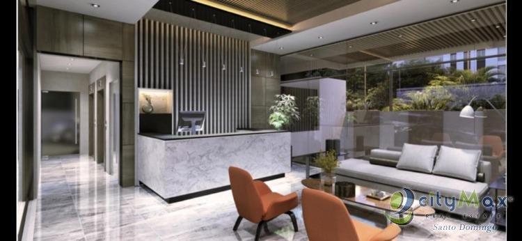 Vendo Apartamento moderno  de dos habitaciónes en Naco