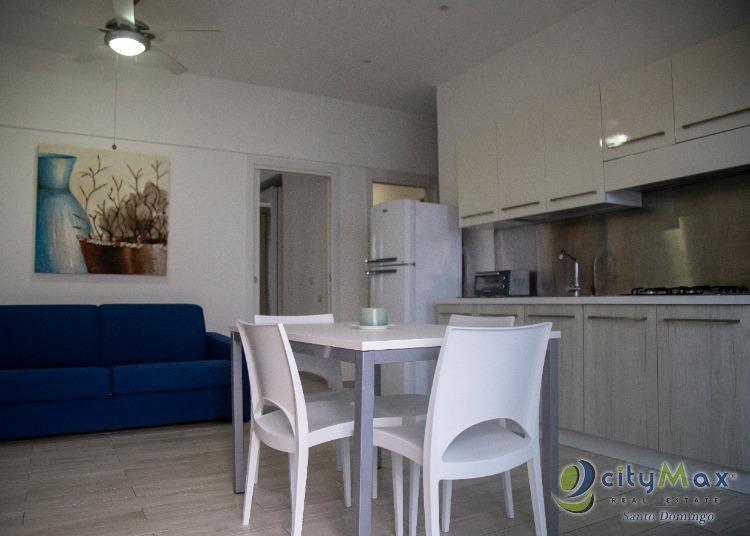 Apartamento amueblado en venta en bayahibe con piscina