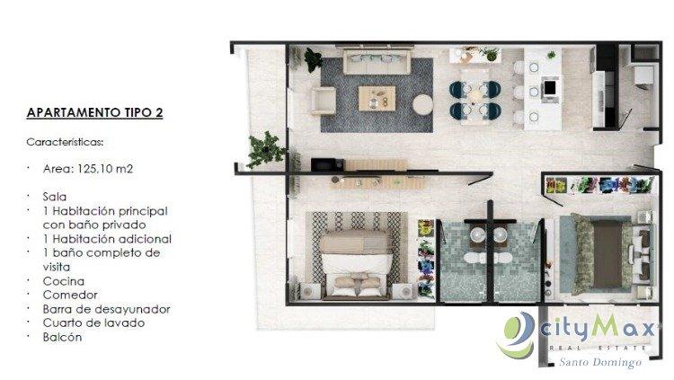 Vende Apartamento Primera Linea de Playa en La Romana
