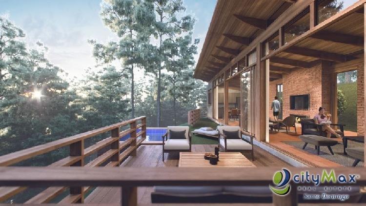 Vendo Villa de 3 Habitaciones en Jarabacoa