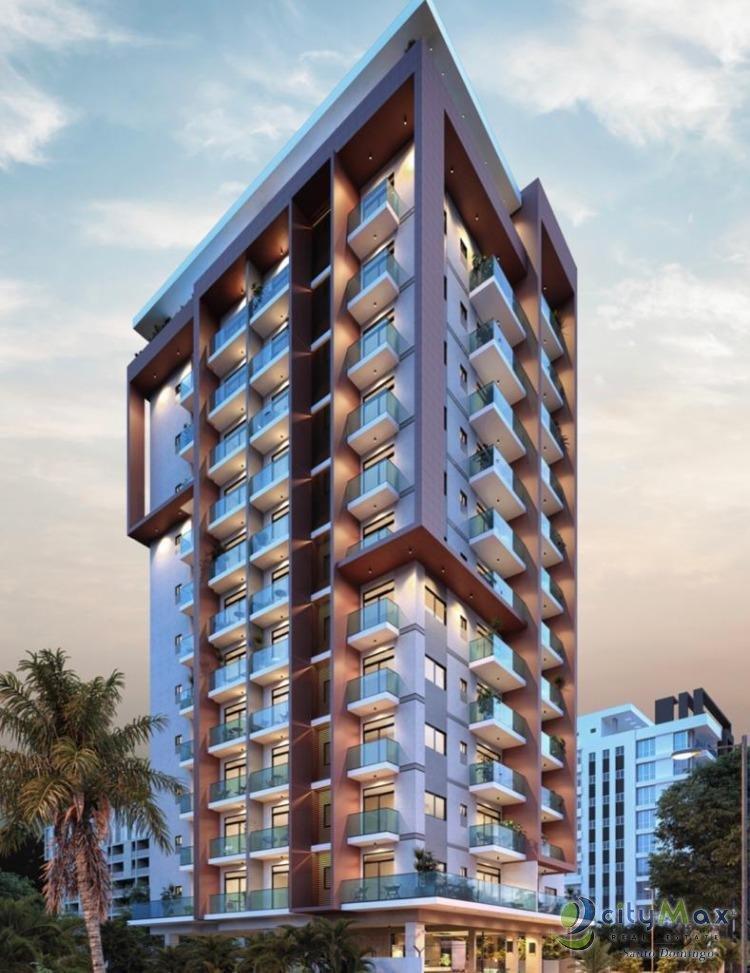 vendo apartamento en torre de lujo en naco 2 hab