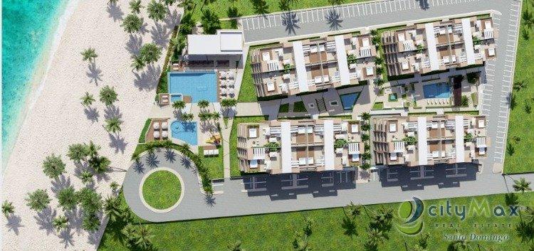 Vendo Apartamento en primera linea de playa en Romana