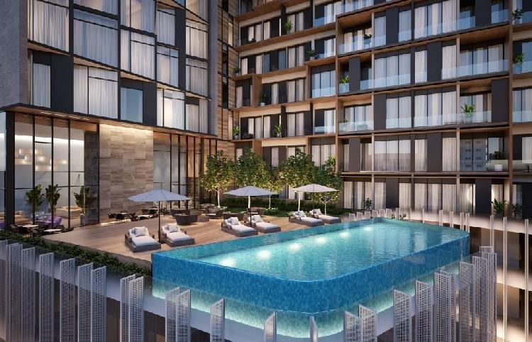 Apartamento moderno piso alto ubicado en Piantini