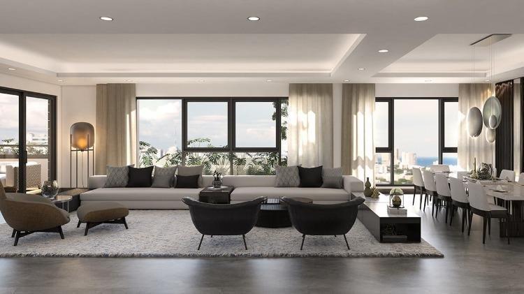 Apartamento en venta en Ensanche Paraíso 4 habitaciones