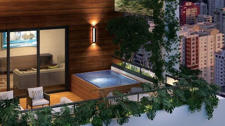 Vendo apartamento en  Ens. Paraiso con piscina infinity
