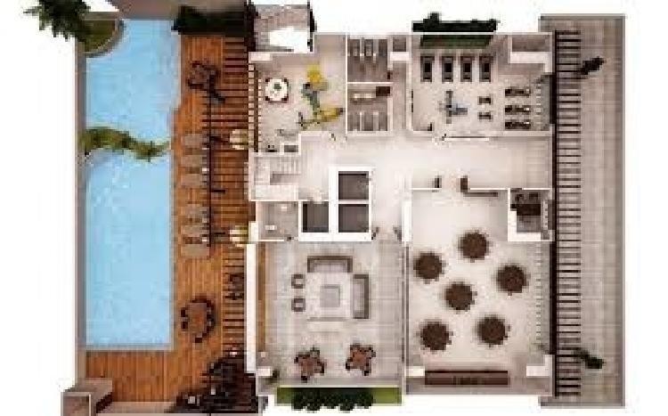 Apartamento piso alto con vista al mar  Los Cacicazgos