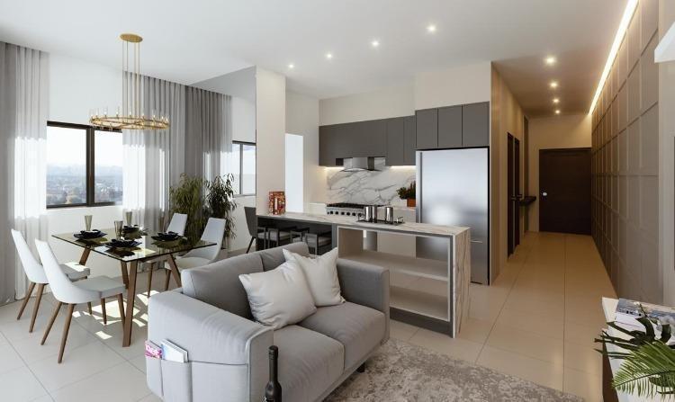 Vendo apartamento con terraza  en Naco 1 habitación