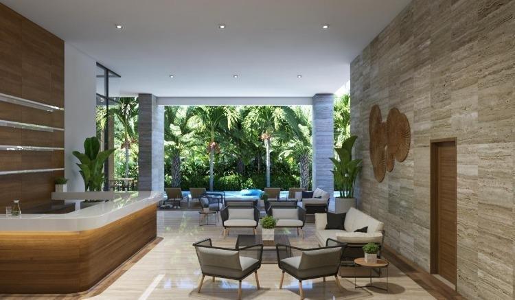Elegante apartamento en venta en Piantini con jardines
